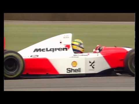 One of the final Senna v. Prost battles - 1993 Silverstone (Broadcast Quality)