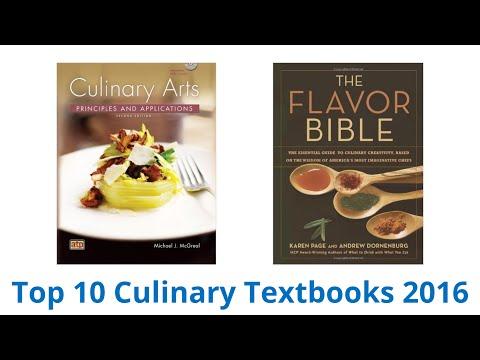 10 Best Culinary Textbooks 2016