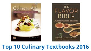 10 Best Culinary Textbooks 2016
