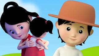 Мисс попка | Детского стишка | Дети песня | Nursery Rhyme For Kids | Miss Polly Had a Dolly