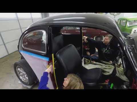 VW Bug lower door post replacment