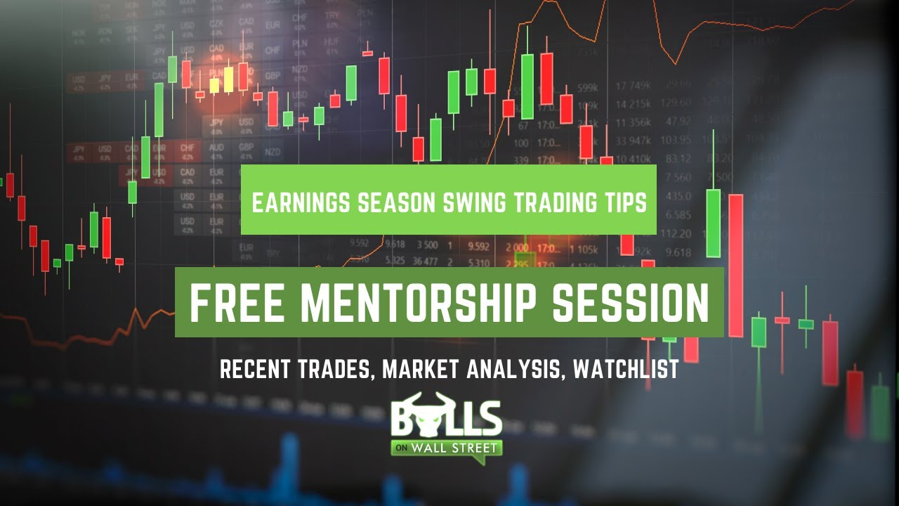 How to Swing Trade During Earnings Season: Mentorship Session Replay
