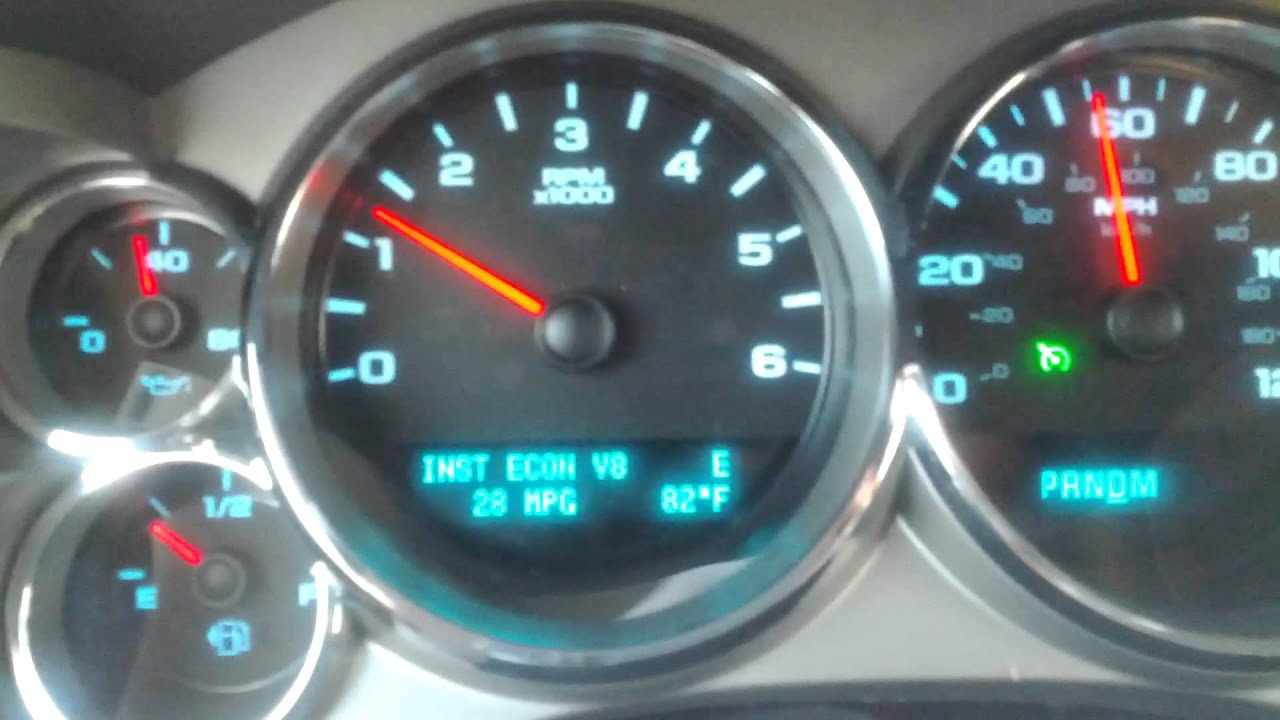 gas mileage for