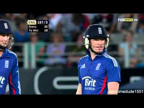 Eoin Morgan 39 off 24 vs New Zealand 3rd ODI Auckland February 23 2013 HD