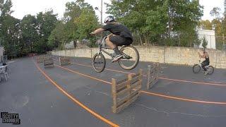 BMX HURDLES!