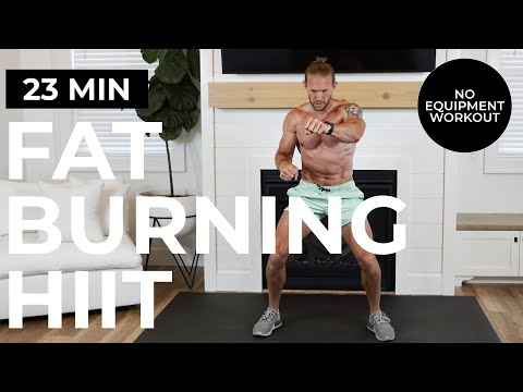 Download 23 Min FAT BURNING HIIT Workout   No Equipment   Torch Calories!!!