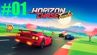 GAMEPLAY HORIZON CHASE TURBO CAMPANHA WORLD TOUR PELA CARLIFÓNIA #01