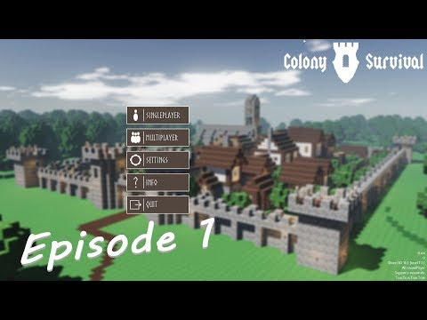 Colony Survival - E01: The Land of the Mountain Home