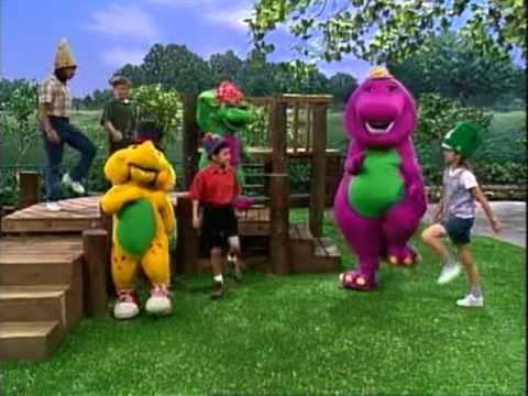 Barney - E-I-E-I-O Song Travel Video