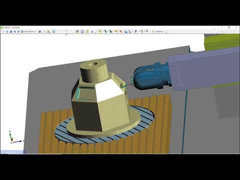 Six Axis Machine Configuration | EDGECAM 2022