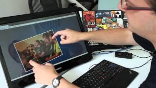 Firefox 4 Beta 3 - Multi-touch