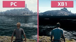 1080p60 PUBG PC Ultra vs. Xbox One Frame Rate Test Graphics Comparison