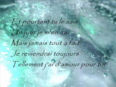 Celine Dion- Tellement j'ai d'amour pour toi lyrics