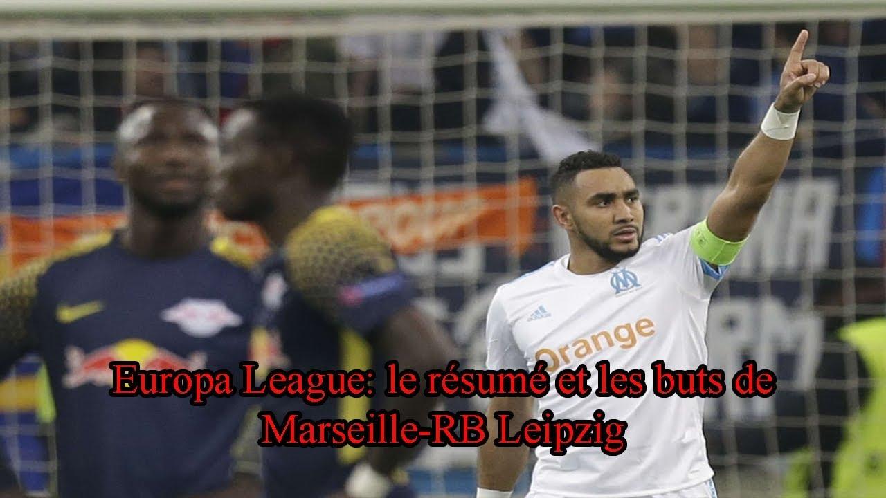 europa league  le r u00e9sum u00e9 et les buts de marseille