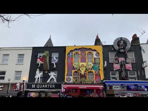 Camden Town & Camden Market Feb 2019 - London, UK