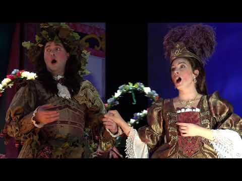 """""""Ariane et Bachus,"""" Act V, Scene 6, by Marin Marais. Haymarket Opera Company."""