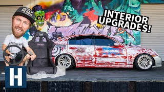 Download Perfect Cheap Drift Car? Interior Revamp For Our Infiniti G35 Yard Burner Mp3 and Videos