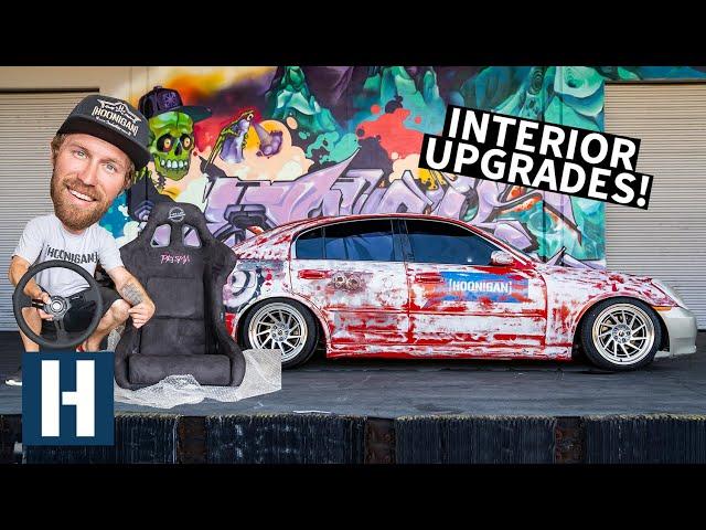 Perfect Cheap Drift Car? Interior Revamp For Our Infiniti G35 Yard Burner