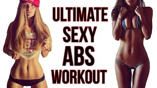 4 Ab Workout For Women | The Best Routine For Sexy Toned Abs!