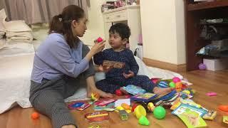 Khánh Thi dạy Kubi học   Kubi 2.5 tuổi
