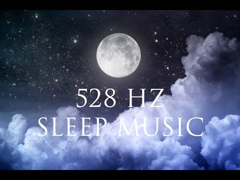 8 Hour Healing Sleep Music ➤ Cleanse Your Aura | Delta waves | 528Hz LOVE frequency