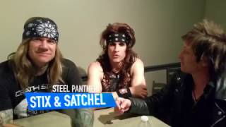Steel Panther Interview Preview at Rams Head Live