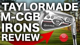 NEW TAYLORMADE M-CGB IRONS REVIEW