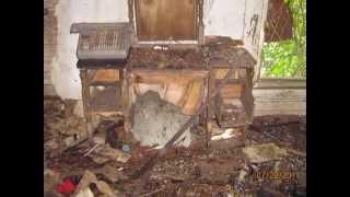 Abandoned farmhouse near Blanchester, Ohio