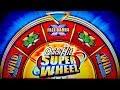 Quick Hit Super Wheel Slot - NICE SESSION, ALL BONUS FEATURES!