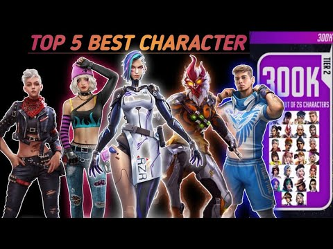 which character best in free fire || Konsa character lena chahiye free fire || ffws free character