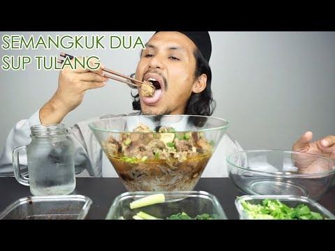 Cukup ke sup tulang semangkuk ni? (mukbang malaysia) SELAMAT HARI RAYA AIDILADHA