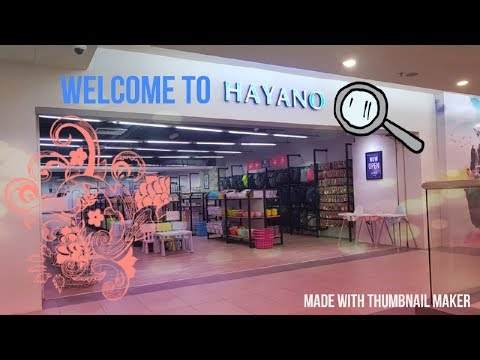 Welcome to Hayano!
