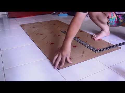 Cách cắt mica tấm