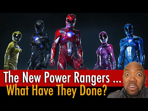 Power Rangers Movie Reboot Costumes Reaction (2017)