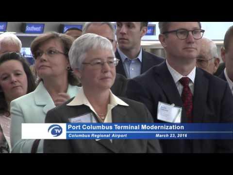 Press Conference: Port Columbus Terminal Modernization