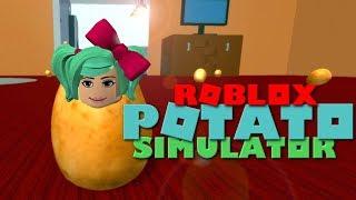 I am a Potato! Roblox Potato Simulator | SallyGreenGamer Geegee92