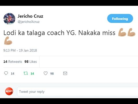 Twitter on fire after Guiao-Ross trash talk, but Jericho Cruz quick to issue denial