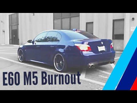 BMW E60 V10 M5-BurnOut