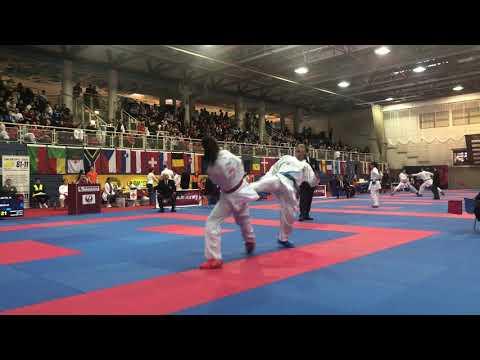 Meltem Hocaoğlu Akyol (TUR) - Maria Torres Garcia (ESP) - Karate 1 Salzburg 2020
