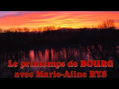 Le printemps de BOURG avec Marie Aline RYS