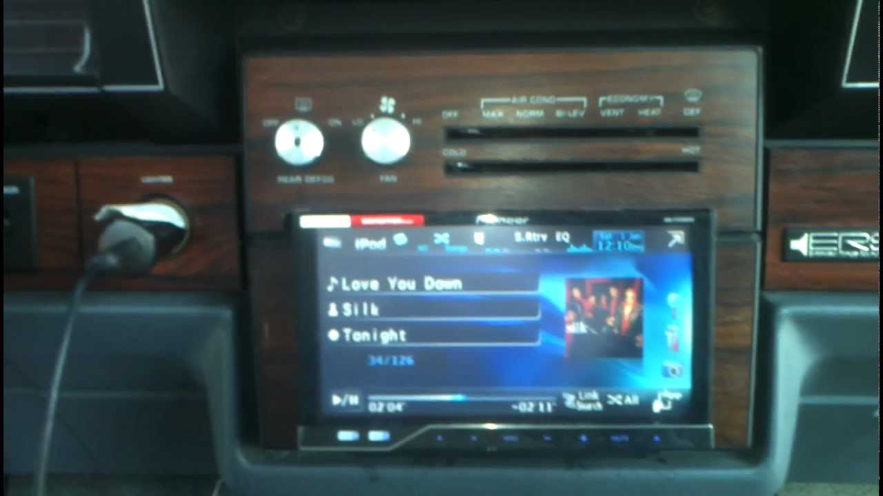 jazze kreations snowflake pioneer double din upgrade