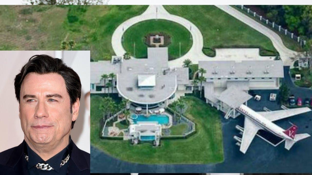 John Travoltau0027s House 2018 | House Tour Inside And Outside