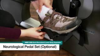 MR100 Neurological Pedal Set Optional