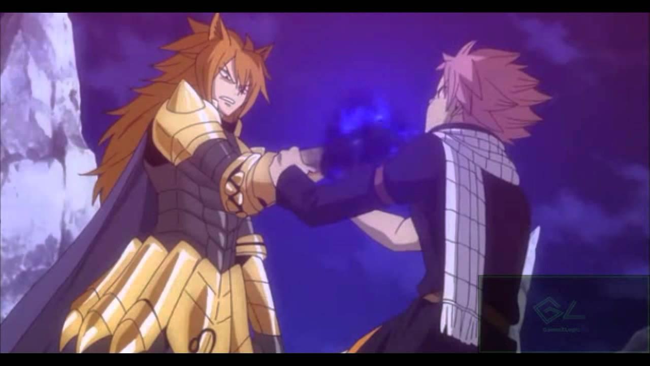 Exploding Flame Edge Of Darkness Fairy Tail Natsu Vs Leo