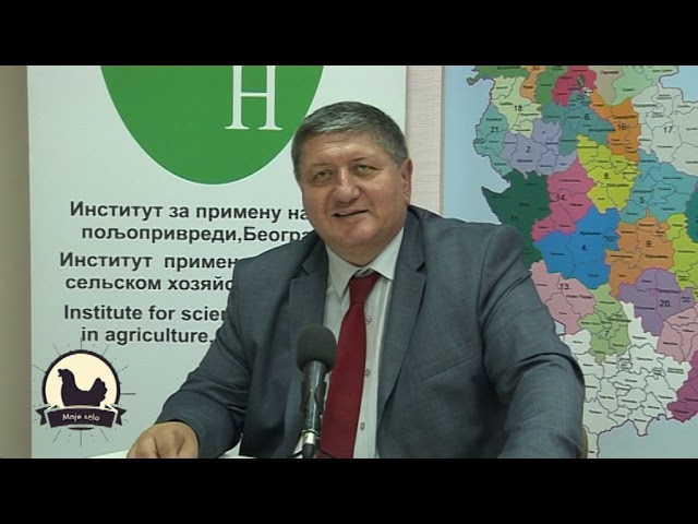Dr Rade Jovanović (IPN): 183 državna agronoma besplatno savetuju poljoprivrednike (TV Moje selo)