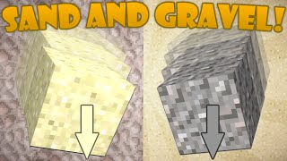 Why Sand and Gravel Fall - Minecraft