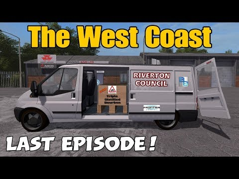 Let's Play Farming Simulator 17 PS4: The West Coast, Ep 29 (LAST EPISODE!!)