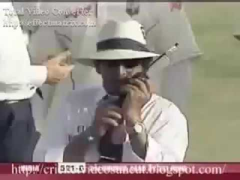 BRIAN LARA TAKES ON A YOUNG MS DHONI AND ASKS HIM TO LEAVE THE FIELD