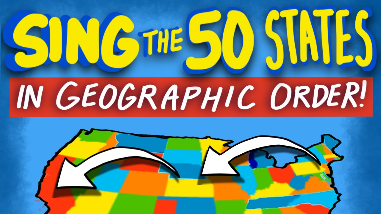 Tap the Map! - 50 States Song - YouTube