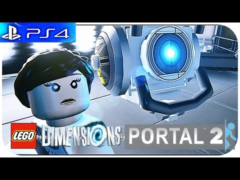 LEGO Dimensions PS4 - » LEVEL PACK / PORTAL 2 « - Español [HD]